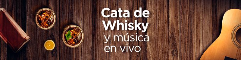 Cata de Whisky y música en vivo - Laureles