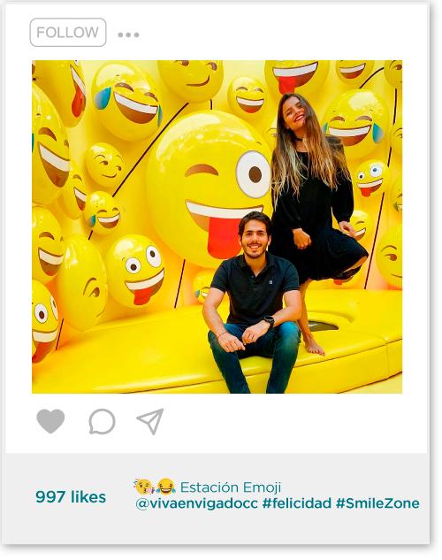 Estación emoji