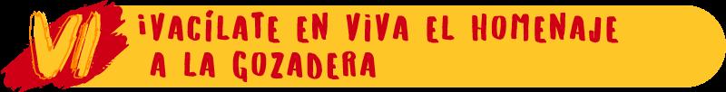 ¡Vacílate en Viva el Homenaje a la Gozadera!