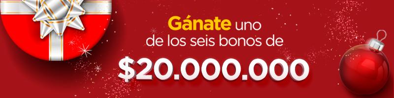Premio 20 millones Viva Envigado