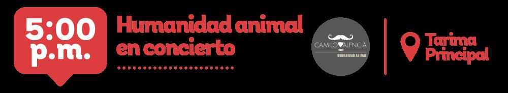 Humanidad animal en concierto