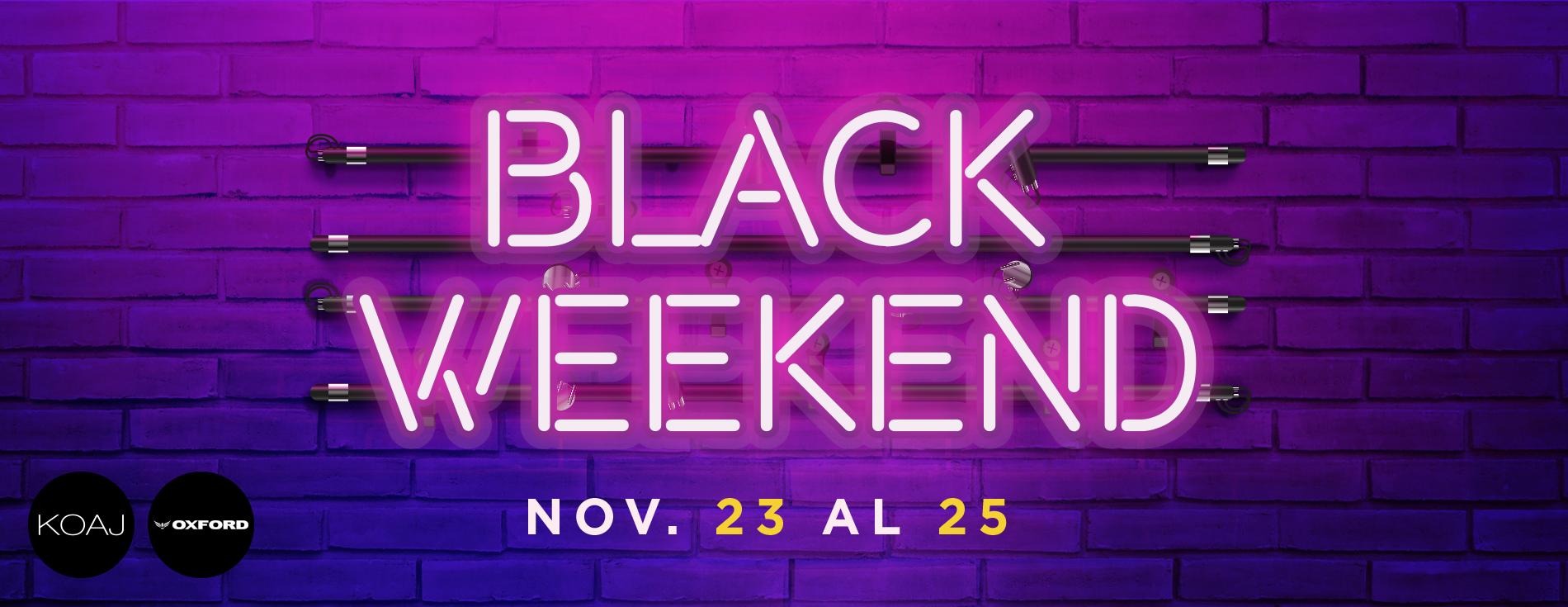 Black Weekend - Villavicencio