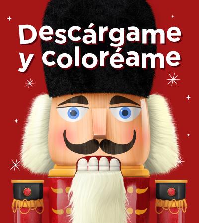 Cascanueces para colorear - Villavicencio